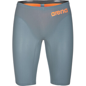 arena Powerskin R-Evo One Jammer Men Grey-Bright Orange